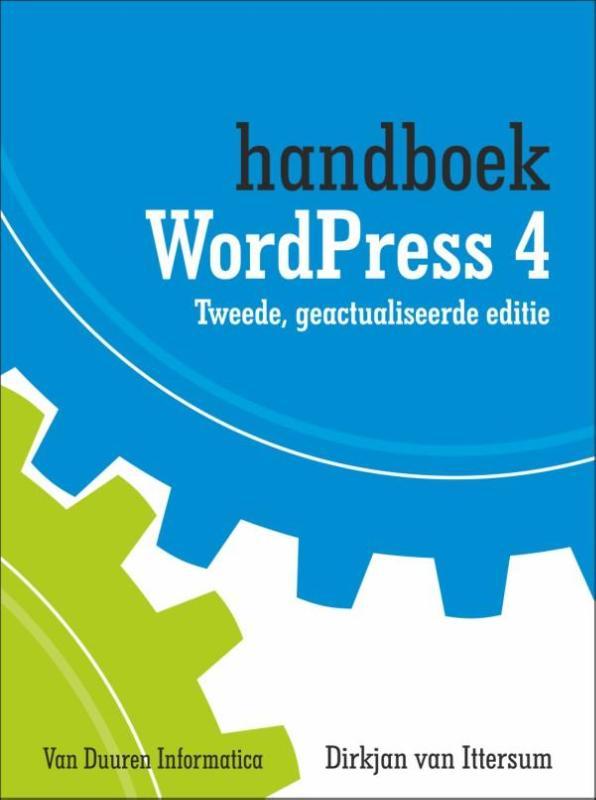 Cover Handboek Wordpress 4 tweede editie