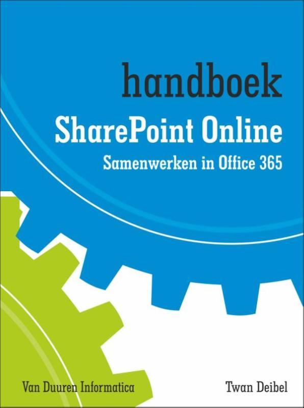 Cover Handboek sharepoint online