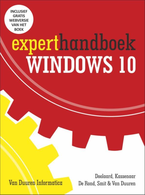 Cover Experthandboek Windows 10