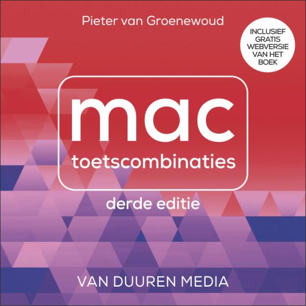 Cover Mac toetsencombinaties