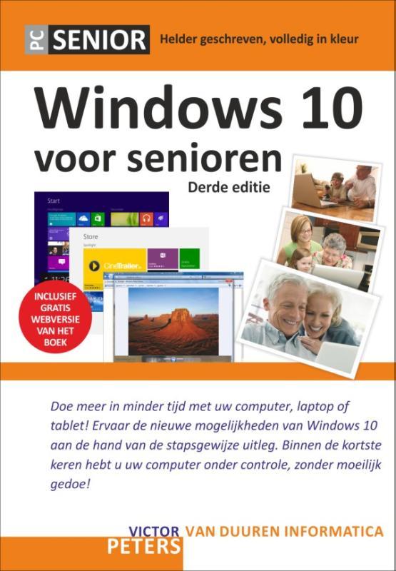 Cover Windows 10 voor senioren