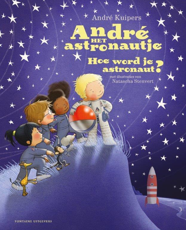 Cover André het astronautje