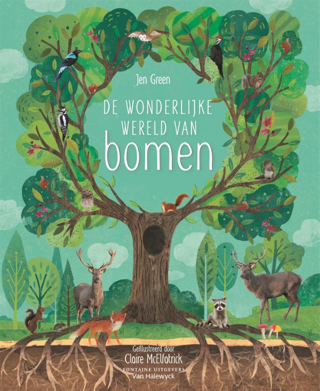 Cover De wonderlijke wereld van bomen