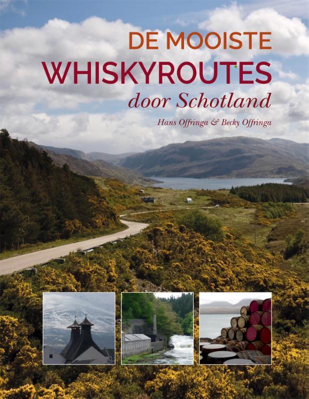 Cover De mooiste whiskyroutes door Schotland