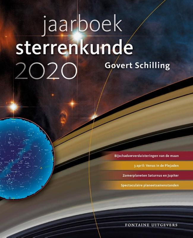 Cover Jaarboek sterrenkunde 2020