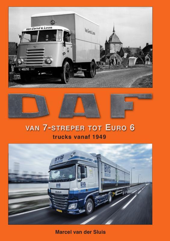 Cover DAF van 7-streper tot Euro 6