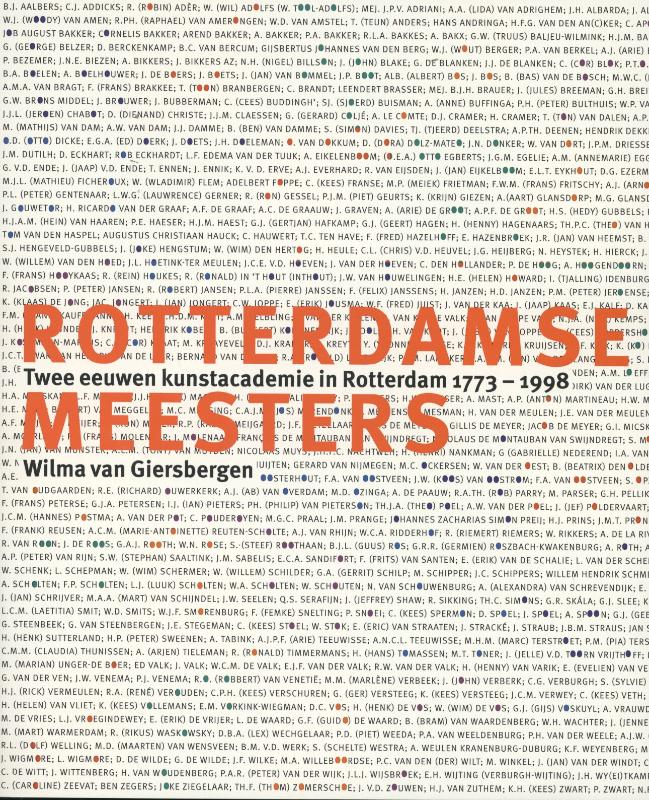 Cover Rotterdamse meesters