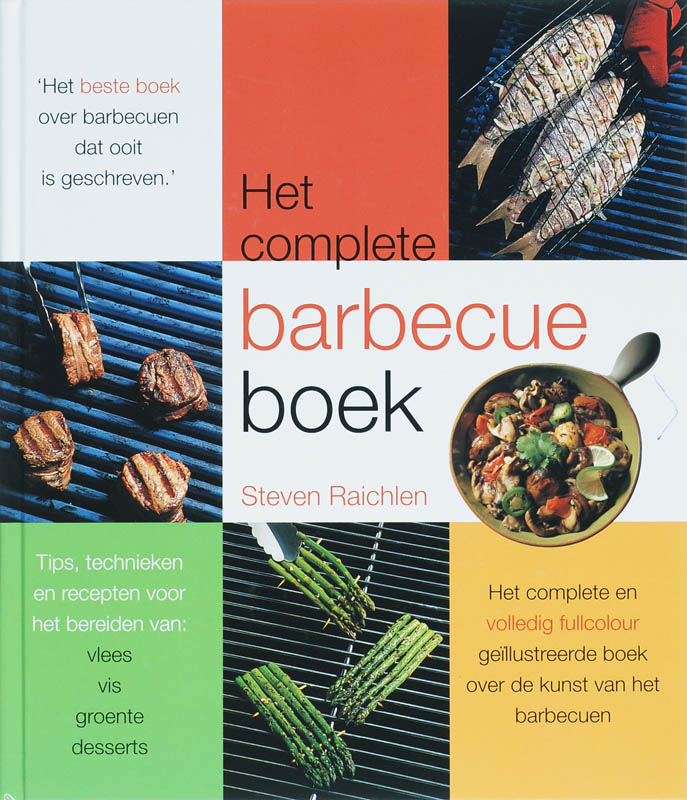 Cover Het complete barbecueboek