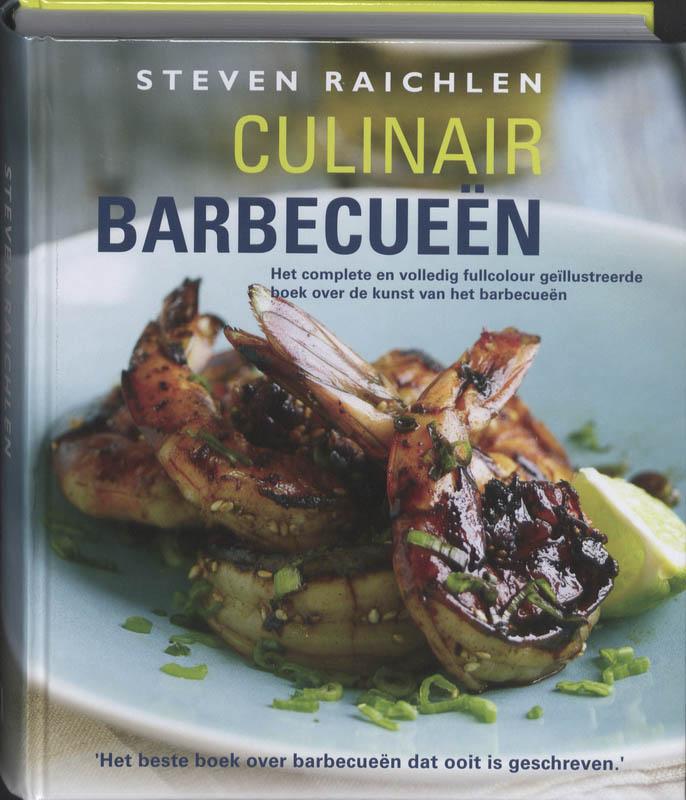 Cover Culinair barbecueën