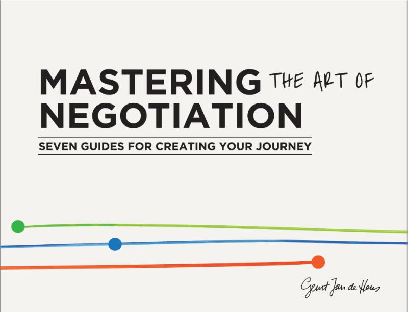 Cover Mastering the art of negotiation