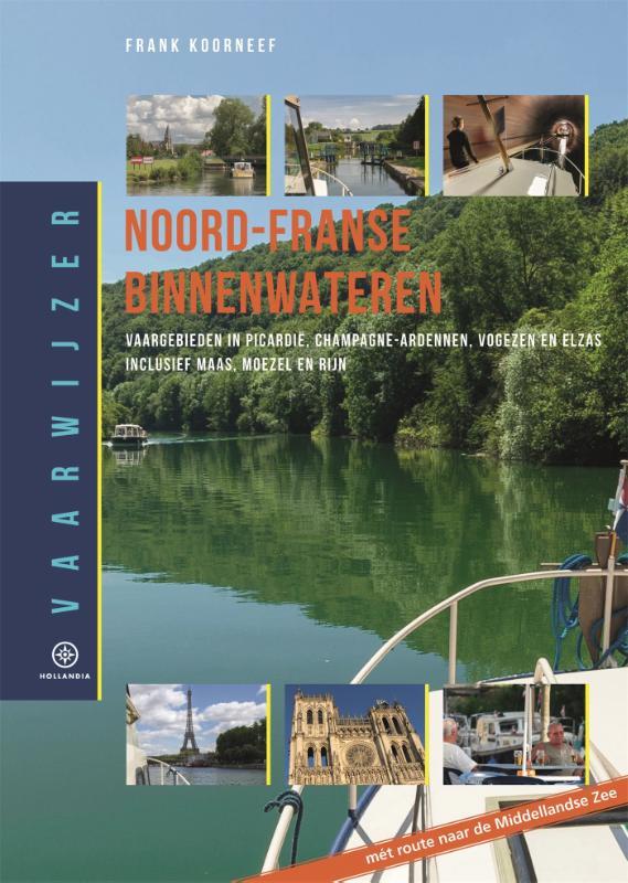 Cover Vaarwijzer Noord-Franse binnenwateren