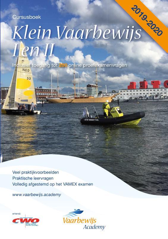 Cover Klein Vaarbewijs I en II 2019-2020 Cursusboek