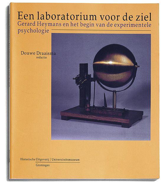 Cover Een laboratorium voor de ziel
