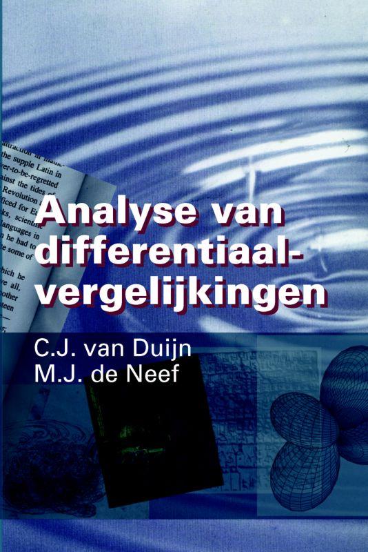 Cover Analyse van Differentiaalvergelijkingen