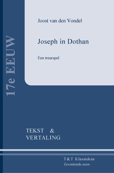 Cover Joseph in Dothan