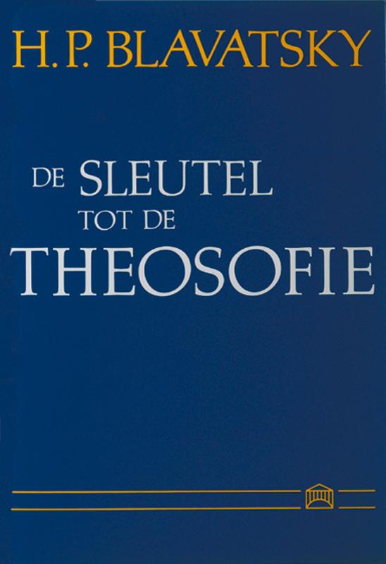 Cover De sleutel tot de theosofie