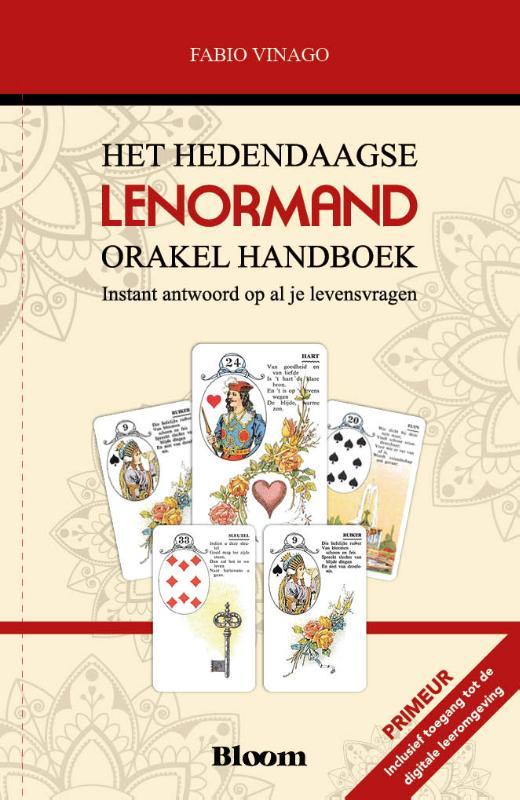 Cover Het hedendaagse Lenormand Orakel Handboek