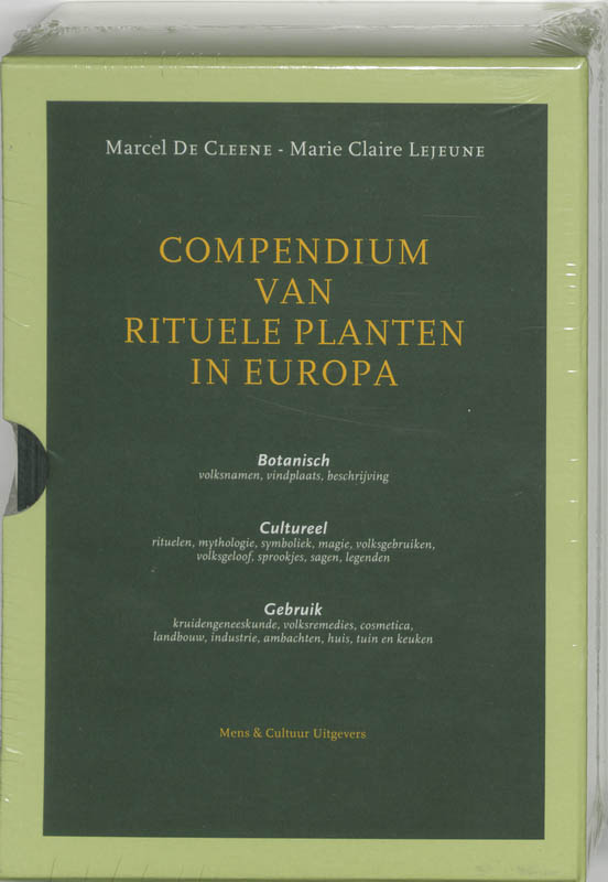 Cover Compendium van rituele planten in Europa