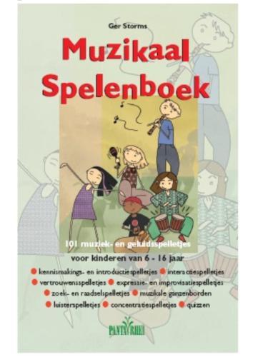 Cover Muzikaal spelenboek