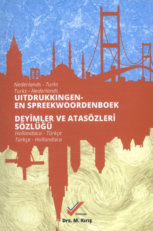 Cover Uitdrukking- en spreekwoordenboek Nederlands-Turks / Turks-Nederlands
