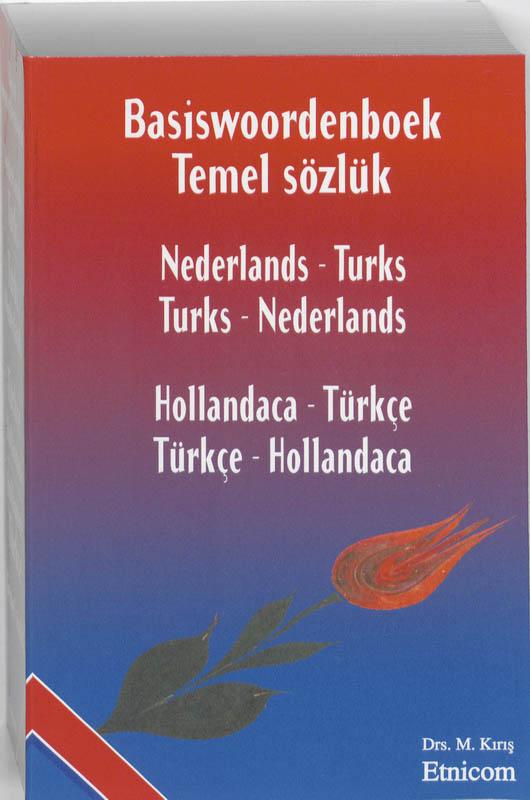 Cover Basiswoordenboek Nederlands-Turks/Turks-Nederlands