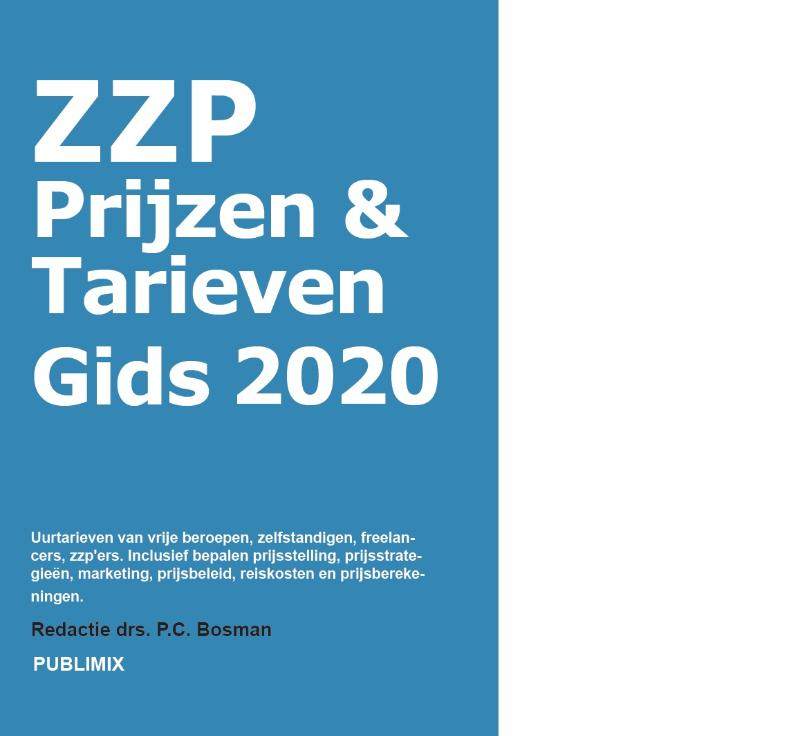 Cover ZZP prijzen & tarieven gids 2020
