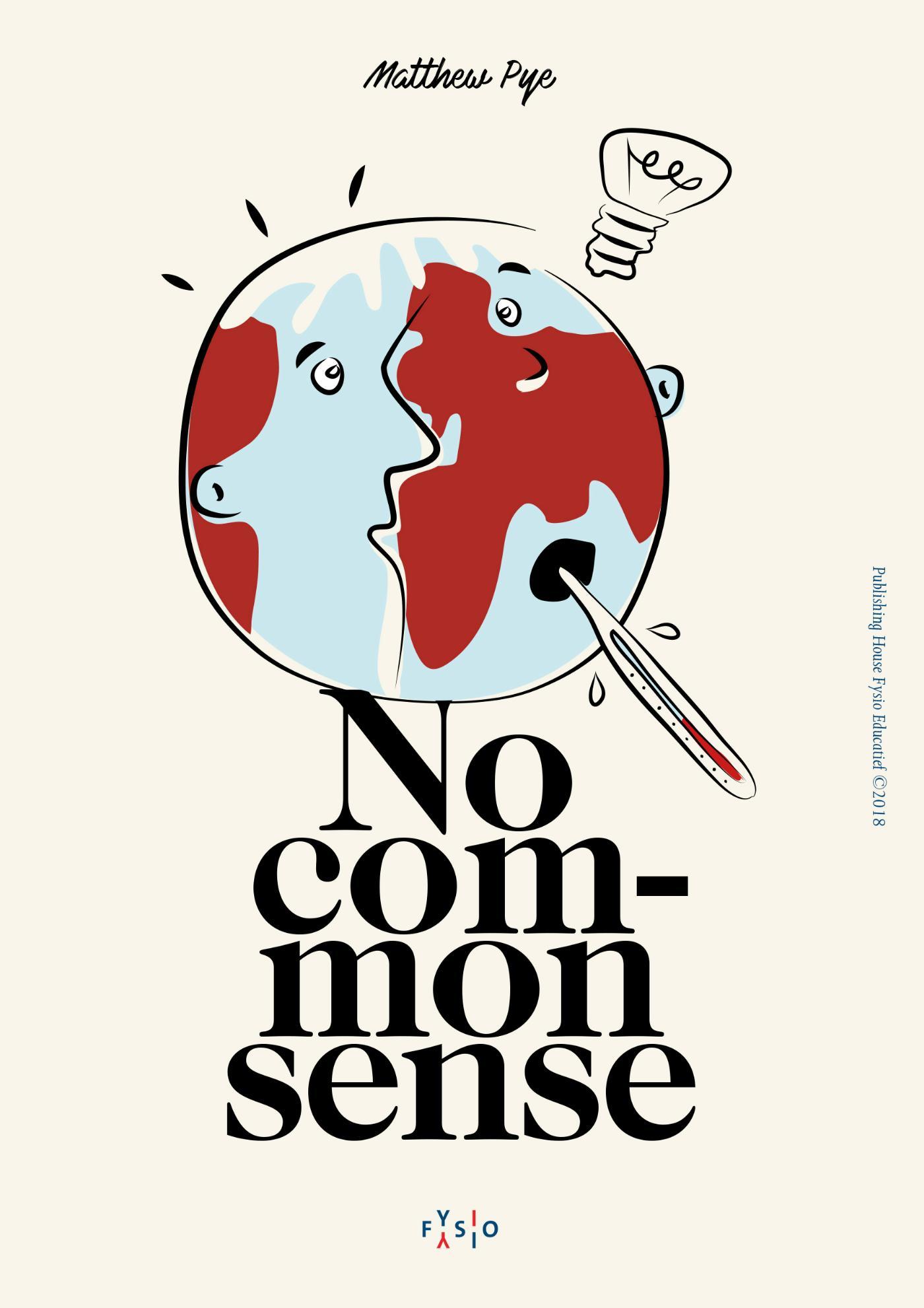 Cover No Common Sense