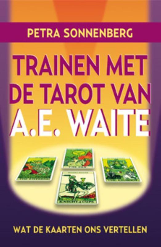 Cover Trainen met de tarot van A.E. Waite