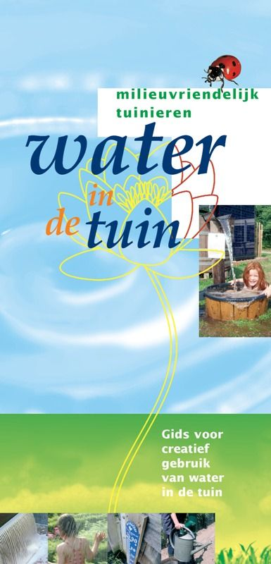 Cover Water in de tuin