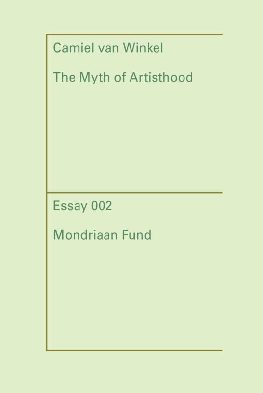 Cover The myth of Artisthood