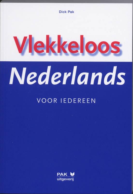 Cover Vlekkeloos Nederlands voor iedereen