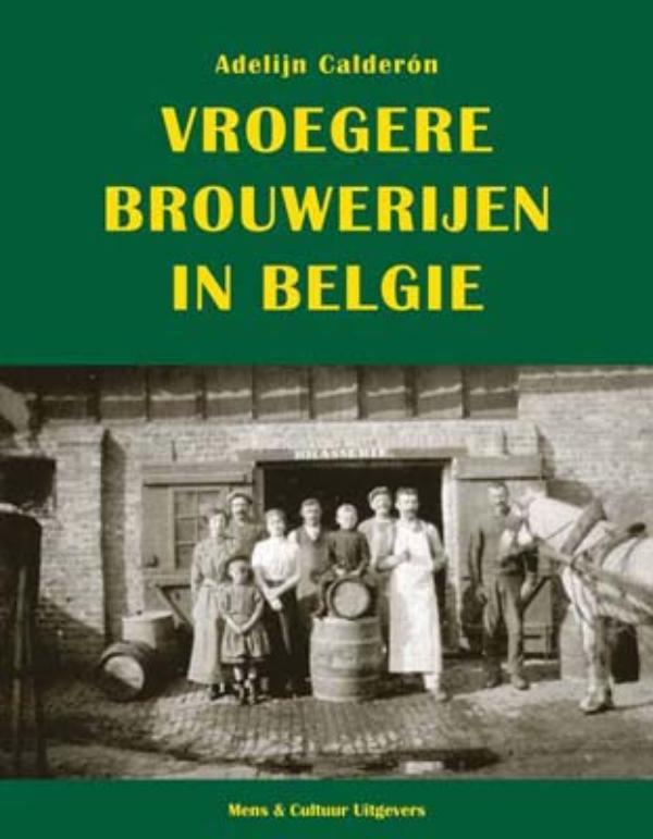 Cover Vroegere brouwerijen in België