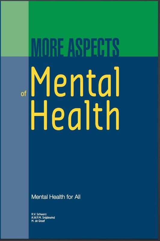 Cover More aspects of mental health