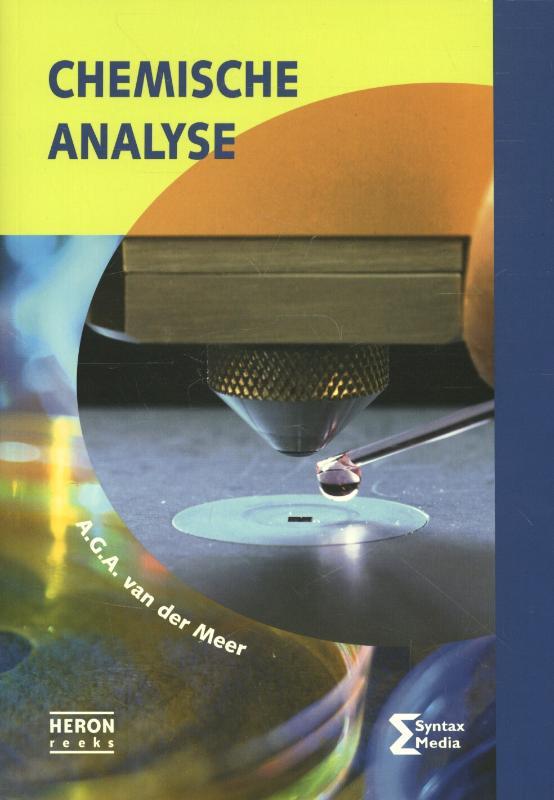 Cover Chemische analyse