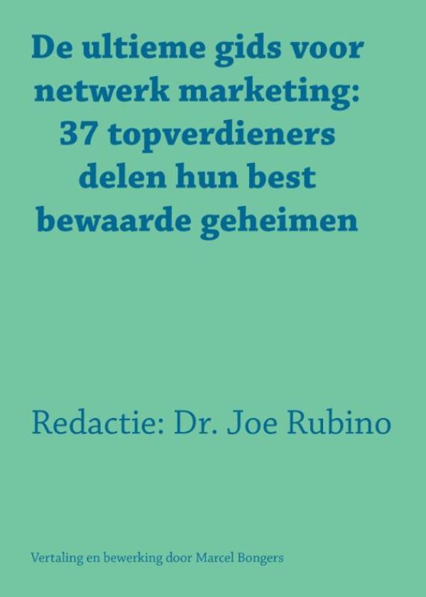 Cover De ultieme gids voor netwerk marketing