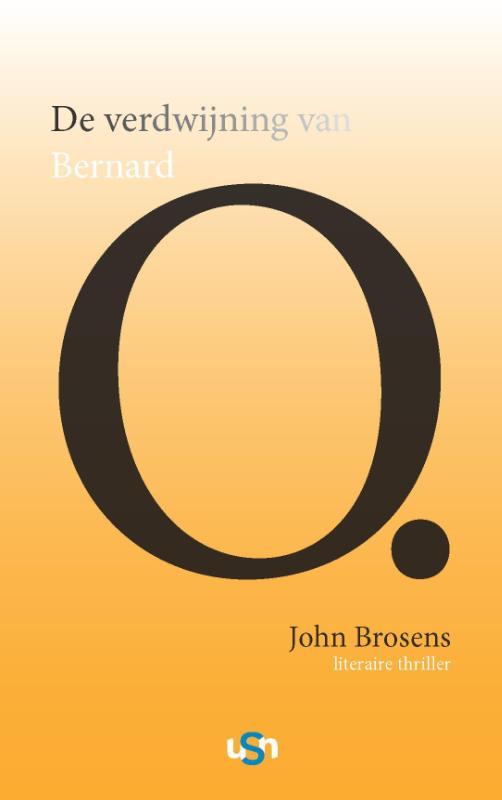 Cover De verdwijning van Bernard O.