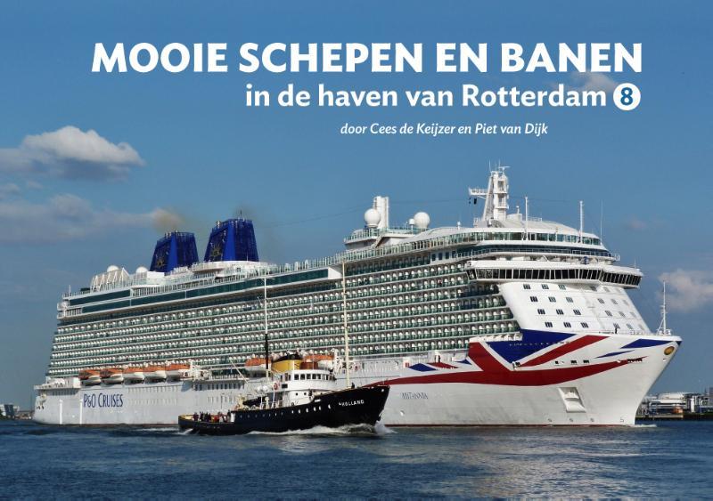 Cover Mooie schepen en banen in de haven van Rotterdam