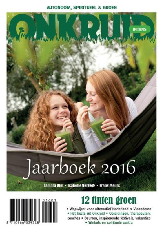 Cover Onkruid-Intens Jaarboek 2016