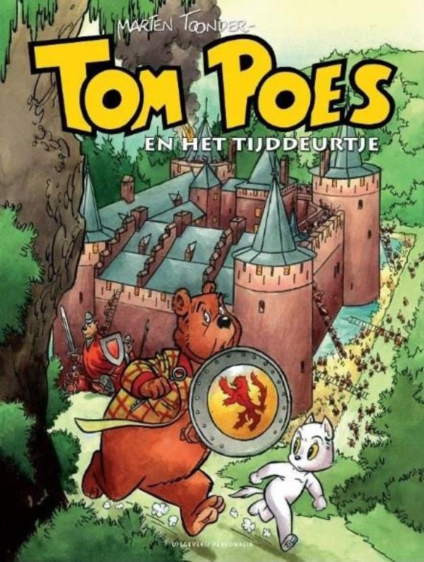 Cover Tom Poes en het tijddeurtje
