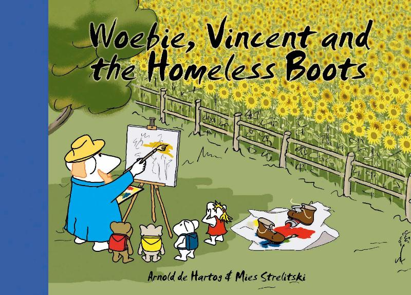 Cover Woebie, Vincent and the homeless boots