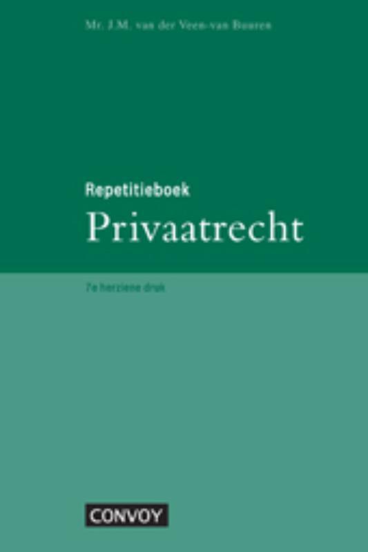 Cover Repetitieboek Privaatrecht