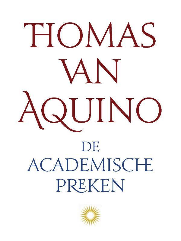 Cover De academische preken