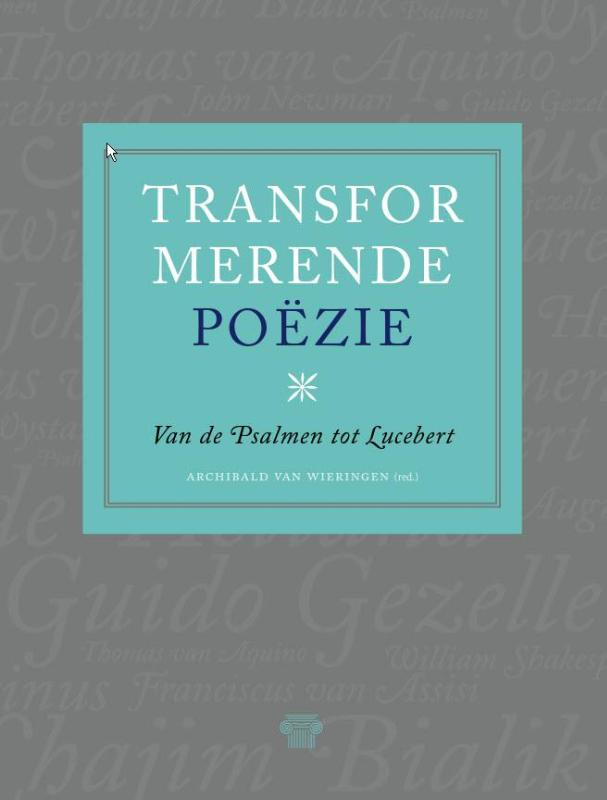 Cover Transformerende poëzie