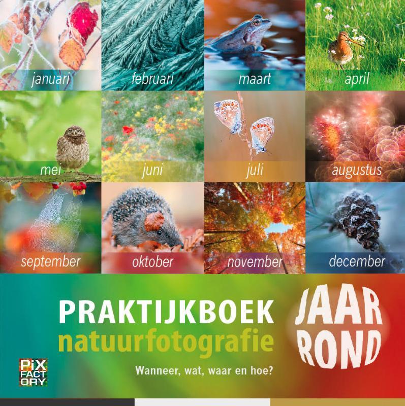 Cover Praktijkboek Natuurfotografie jaarrond