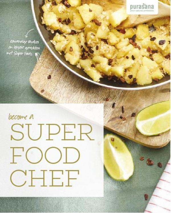 Cover Become a super food chef