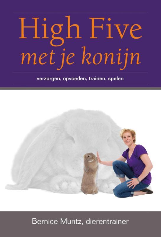Cover High five met je konijn