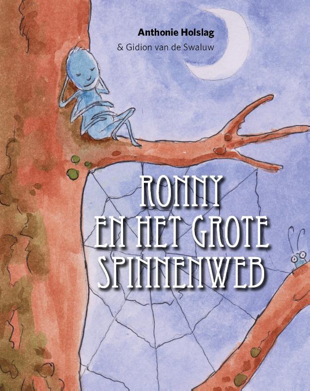 Cover Ronny en het grote spinnenweb