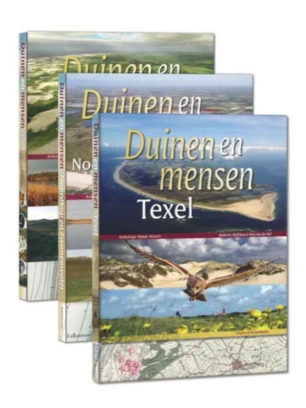 Cover Duinen en mensen van Kennemerland tot Texel