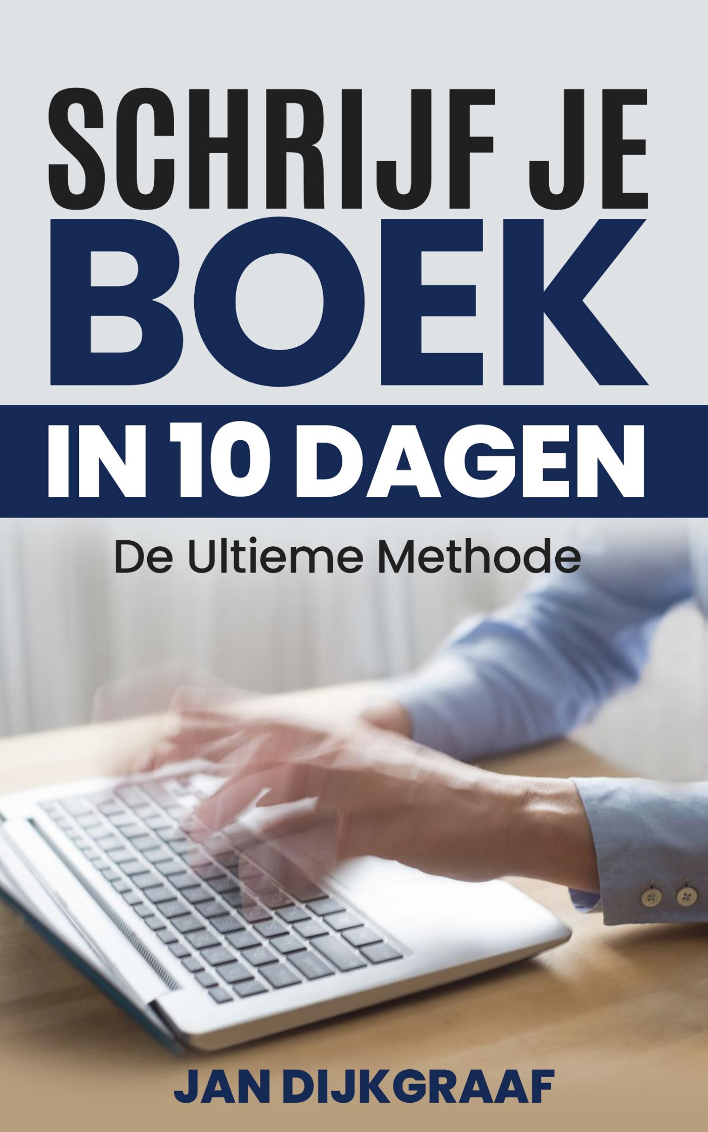 Cover Schrijf je boek in 10 dagen