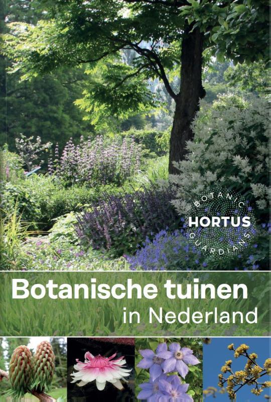Cover Botanische tuinen in Nederland